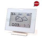 Reloj despertador con barometro y termometro
