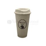 Vaso cafetero de fibra de agave