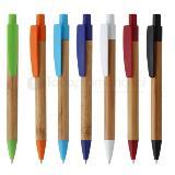 Bolígrafo retráctil bamboo