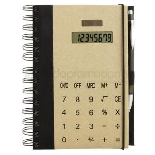 Libreta Calculadora Ecoworld | Articulos Promocionales
