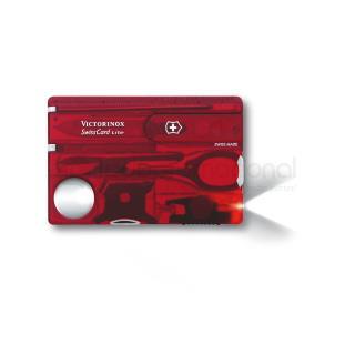 SWISS CARD LITE RUBI TRANSPARENTE, 13 USOS | Articulos Promocionales