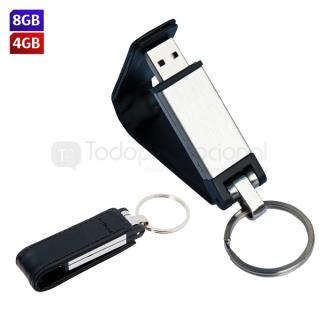 USB Llavero Leather (8 GB) | Articulos Promocionales