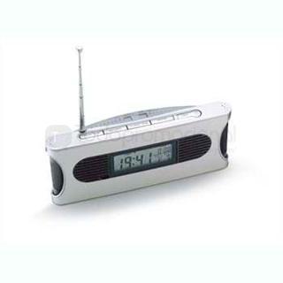 Radio con reloj (Stock) | Articulos Promocionales