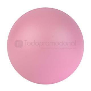 Pelota antiestrés rosa | Articulos Promocionales